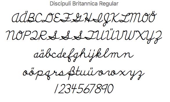 discipuli-schreibschrift-england